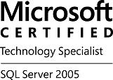 MCTS-SQLSvr2005-logo-BW